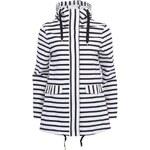 Černo-bílý pruhovaný kabát Vero Moda