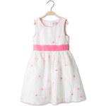 C&A Mädchen Kleid in weiss / pink von Palomino