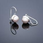 Buka Jewelry Buka Perlové náušnice Buka malé – růžová 103