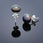 Buka Jewelry Buka Perlové náušnice Mutiara – fialová 313