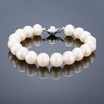 Buka Jewelry Buka Perlový náramek Mutiara 9,5 AA bílý 625