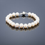 Buka Jewelry Buka perlový náramek Mutiara AA 7,5 bílý