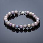 Buka Jewelry Buka Perlový náramek Mutiara střední – růžová 619