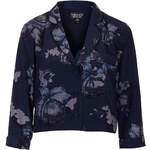 Topshop Skate Bloom Crop Jacket