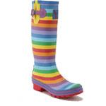 Dámské holínky gumáky Evercreatures Rainbow