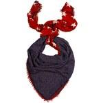 Hilfiger Denim - Šátek Firlya01 - červená, ONE