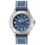 ICE-WATCH Armbanduhr, »ICE-DENIM Silber (DE.DJN.SR.B.J.14)«, ice® watch