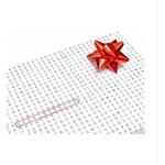 Balící papír - Dárková osmisměrka