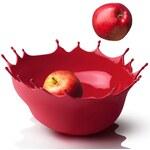 MENU Mísa na ovoce Dropp (červená)