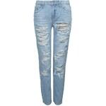 Tally Weijl Blue Extreme Distressed Boyfriend Jeans