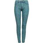 Tally Weijl Green Second Skin Jeans in Acid Wash