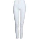 Tally Weijl White High Waist Skinny Pants