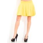 Glamorous by Glam Dámská sukně - žlutá