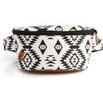 ledvinka MI-PAC - Bum Bag Native Black/White (001)
