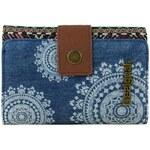 Geldbeutel Damen Portemonnaie Lengueta S African Art (blau) von Desigual