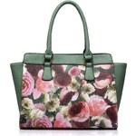 Kaytie Wu Nákupní taška s květinovým potiskem