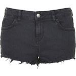 Topshop MOTO Black Daisy Shorts