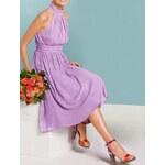 APART Šifonové šaty APART, šaty s odhalenými zády