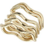 Topshop Curved Ring Pack