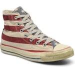 Converse (Women) - Chuck Taylor All Star Stars & Bars Vintage Hi W (Multicolor)