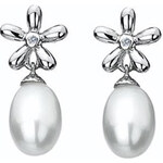 Stříbrné náušnice Hot Diamonds Diamonds and Pearls DE297