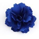 FJ Modrá sponka ve tvaru kytky