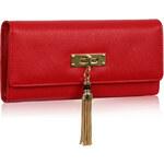 FASHION ONLY Dámská velká peněženka červená