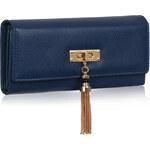FASHION ONLY Dámská velká peněženka modrá