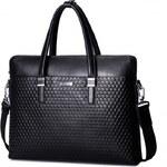 SAMMONS pánská attache taška černá
