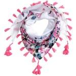 H&M Vzorovaný trojcípý šátek