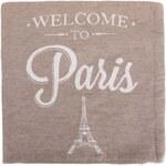 Béžový povlak na polštář Dakls Paris
