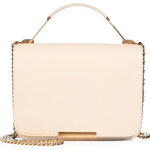 Emilio Pucci Leather/Fabric Accordion Satchel