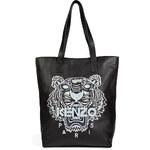 Kenzo Leather Logo Tote