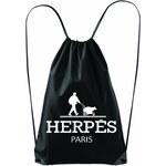 PF14 - Parody Fashion Black Herpés Tote