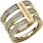 Michael Kors Damenring Brilliance Edelstahl vergoldet MKJ3780710
