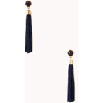 Forever 21 Gone Boho Tassel Drop Earrings