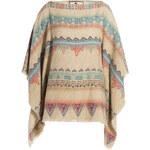 Etro Navajo Printed Silk-Linen Poncho