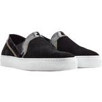 Rupert Sanderson Suede Slip-On Sneakers