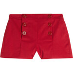 RED Valentino Stretch Cotton Shorts