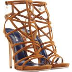 Dsquared2 Suede Stiletto Sandals