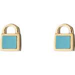 Marc by Marc Jacobs Lock-In Mini Padlock Stud Earrings