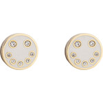 Marc by Marc Jacobs Disc-O Smiley Studs Earrings