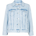 Topshop MOTO Fitted Denim Jacket