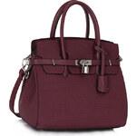 Fialová kabelka LS fashion LS00140 fialová