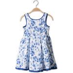 C&A Mädchen Kleid in blau / weiss von Palomino