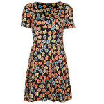 Topshop Happy Floral Flippy Dress