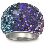 Swarovski Prsten CHIC PURPLE BLUE 1110433 55 mm