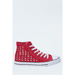Tally Weijl Red Stud High Sneakers