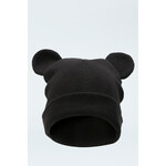 "Tally Weijl Black ""Ear"" Beanie Hat"