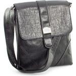 Černá crossbody kabelka Royal Style 764 černá
